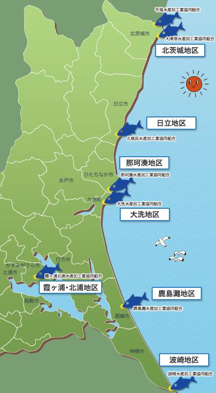 水産物開発普及協会マップ